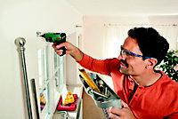 Bosch Green Home & Garden 3.6V Li-ion Cordless Screwdriver with 12x standard screwdriver bits, micro USB charger 603977070