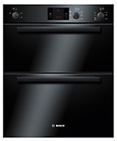 Bosch HBN13B261B Black Integrated Electric Double Double Oven