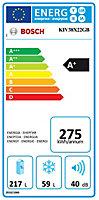 Bosch KIV38X22GB 70:30 White Integrated Fridge freezer