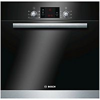 Bosch HBA23B152B Black Integrated Electric Single Multifunction Oven