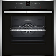 Neff Slide&Hide B47CR32N0B Stainless steel Built-in Electric Single Multifunction Oven