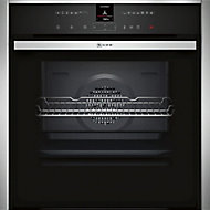 Neff B47VR32N0B Black Built-in Electric Single Multifunction Oven