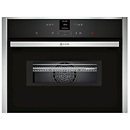 Neff C17MR02N0B 1000W Built-in Stainless steel Compact Oven with microwave