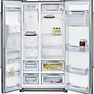 Neff KA3902I20G American style Silver Fridge freezer