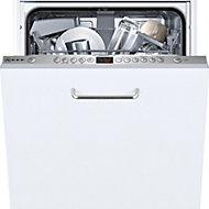 Neff S583C50X0G Integrated White Slimline Dishwasher