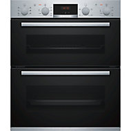Bosch NBS533BS0B Black Electric Double Multifunction Oven