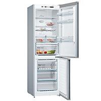 Bosch KGN36IJ3AG Grey Freestanding Fridge freezer