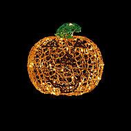 450mm Warm white LED Pumpkin