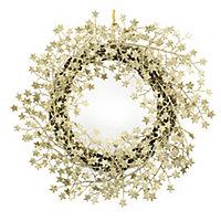 45cm Round Christmas wreath