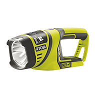 Ryobi One+ 150lm Plastic Halogen Green Portable flashlight