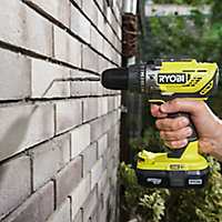 Ryobi ONE+ 18V 1.3Ah Cordless Percussion drill 2 batteries R18PD3-213S