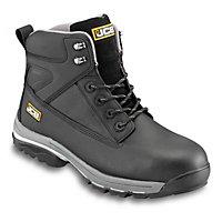 JCB Fast Track Black Safety boots, Size 8