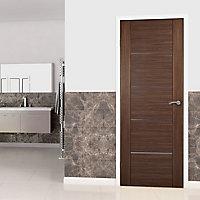 5 panel Flush Oak veneer LH & RH Internal Fire Door, (H)1981mm (W)838mm