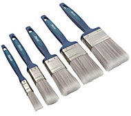 "Harris Precision tip Paint brush (W)½"", 1"", 1½"", 2"", 2½"", Set of 5"