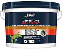 Bostik Cementone Buff Ready mixed Fire cement, 5kg Tub