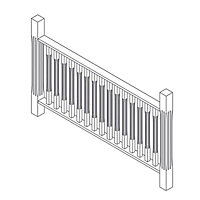 20 Piece Colonial Balustrade kit