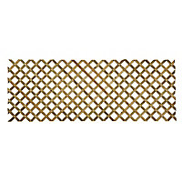 Richard Burbidge Decking Traditional Garden dividing screen Trellis panel (W)2.44m (H)0.9m