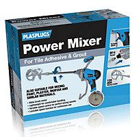 Plasplugs 850W 230V Corded Paddle mixer PPM850