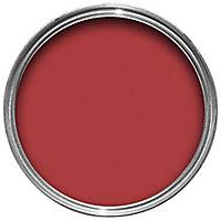 Sandtex Pillar box red Gloss Metal & wood paint, 0.75L