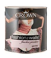 Crown Gentle Flat matt Emulsion paint 2.5L