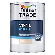 Dulux Trade Magnolia Matt Emulsion paint, 5L