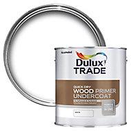 Dulux Trade White Wood Primer & undercoat, 2.5L