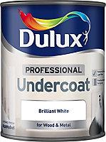 Dulux Professional White Undercoat, 0.75L