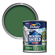 Dulux Weathershield Buckingham green Gloss Metal & wood paint, 0.75L