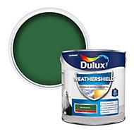 Dulux Weathershield Buckingham green Gloss Metal & wood paint, 2.5L