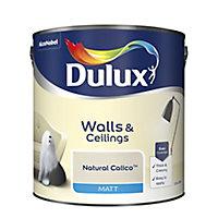 Dulux Calico Matt Emulsion paint, 2.5L