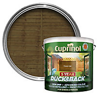 Cuprinol 5 year ducksback Forest oak Fence & shed Wood treatment, 9L