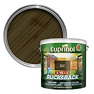 Cuprinol 5 year ducksback Harvest brown Fence & shed Wood treatment, 9L