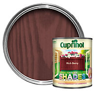 Cuprinol Garden Shades Rich berry Matt Wood paint 1L