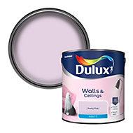 Dulux Pretty pink Matt Emulsion paint, 2.5L