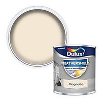Dulux Weathershield Magnolia Masonry paint, 0.25L Tester pot