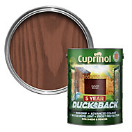 Cuprinol 5 Year Ducksback Autumn brown Shed & fence treatment 5L