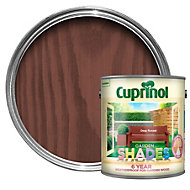 Cuprinol Garden Shades Deep russet Matt Wood paint 2.5L