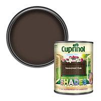 Cuprinol Garden shades Seasoned oak Matt Wood paint, 1L