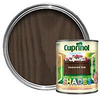 Cuprinol Garden Shades Seasoned oak Matt Wood paint 1L