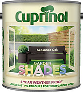 Cuprinol Garden shades Seasoned oak Matt Wood paint, 2.5L
