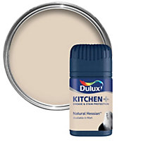 Dulux Kitchen Natural hessian Matt Emulsion paint 0.05L Tester pot