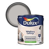 Dulux Neutrals Perfectly taupe Silk Emulsion paint, 2.5L