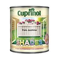 Cuprinol Garden shades Pale jasmine Matt Wood paint, 1L