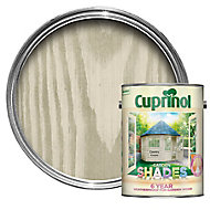 Cuprinol Garden shades Country cream Matt Wood paint, 5L