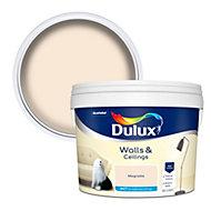 Dulux Magnolia Matt Emulsion paint, 10L