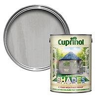 Cuprinol Garden Shades Natural stone Matt Wood paint 5L