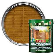 Cuprinol 5 year ducksback Autumn gold Fence & shed Wood treatment 5L