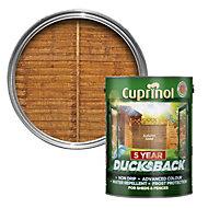 Cuprinol 5 Year Ducksback Autumn gold Shed & fence treatment 5L