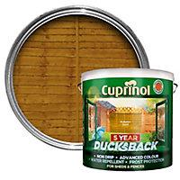 Cuprinol 5 year ducksback Autumn gold Fence & shed Wood treatment, 9L