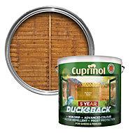 Cuprinol 5 Year Ducksback Autumn gold Shed & fence treatment 9L